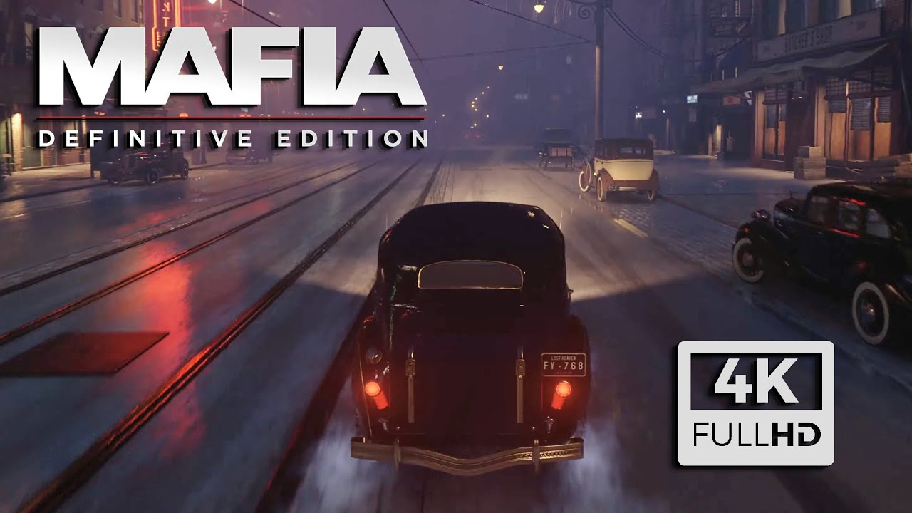 First Look Mafia 1 Remake (2020) Gameplay (Teaser Trailer 4K HD)