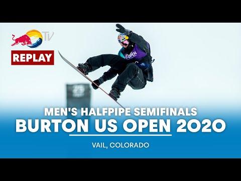 Men's Halfpipe Semifinals | Burton US Open 2020 - FULL REPLAY