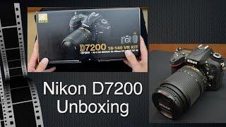 Nikon D7200 Unboxing