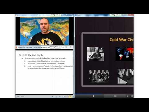 Video Lecture 90: The Emerging Civil Rights Struggle