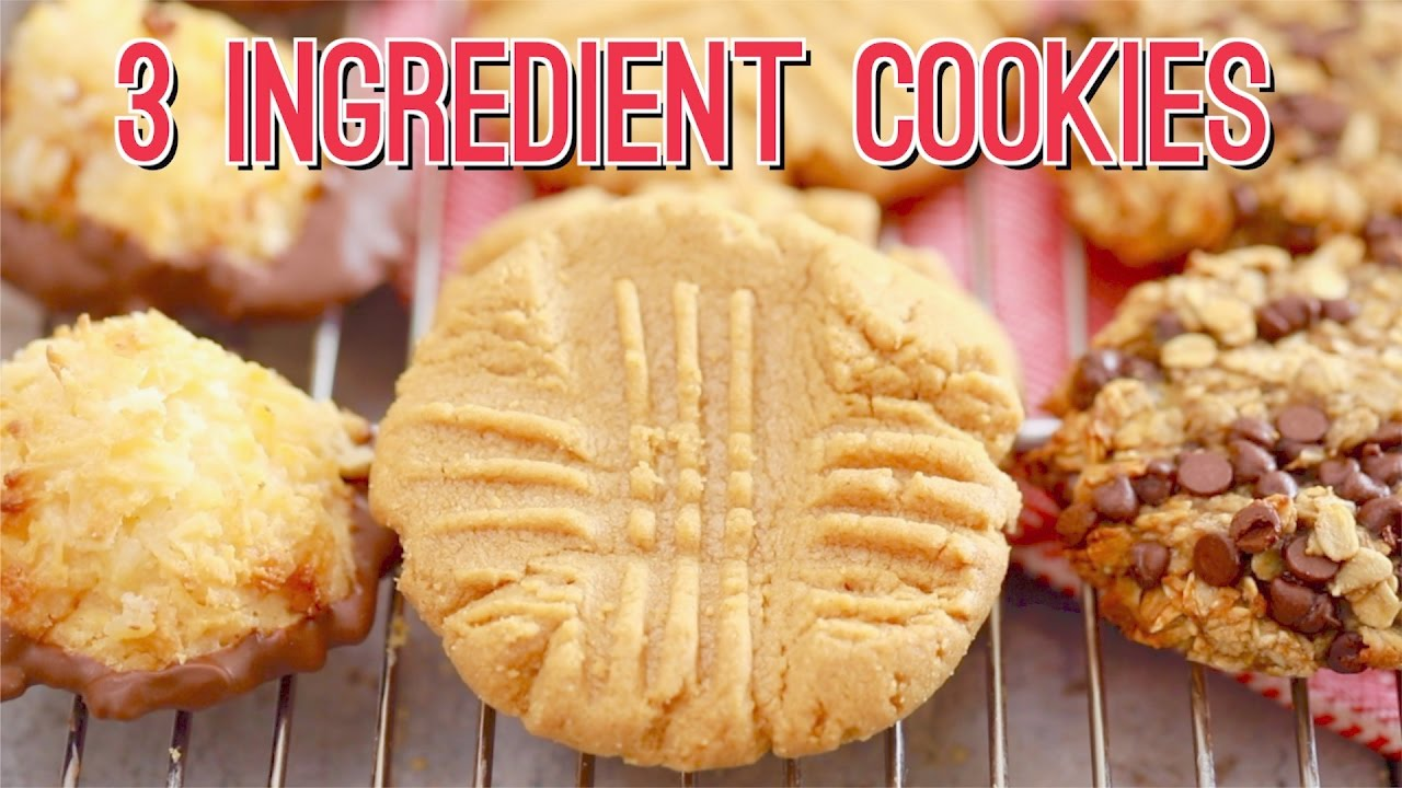 3 Ingredient Cookies Three AMAZING Recipes Gemmas Bigger Bolder Baking