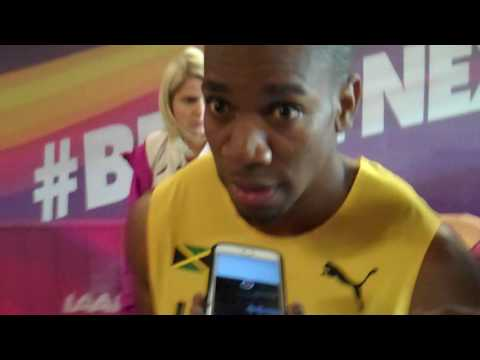 Yohan Blake Says He's Healthy After Round 1 at 2017 World Champs
