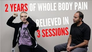 2 Years of Neck, Shoulders, Back , Knees Pain Relieved In 3 ASTR Sessions (FOLLOW-UP!!!)