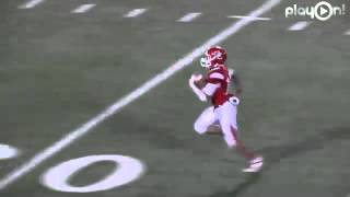Dodge City vs. Garden City - Immanuel Galloway 80yd Intercepted Snap Pick 6