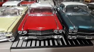 1:24 Scale (ölçek) Diecast Cadillac Model Cars, Danbury mint, Franklin mint and Jada