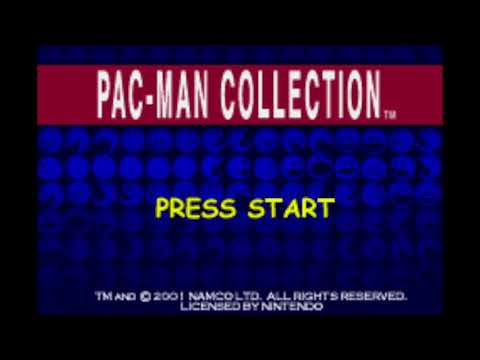 Title Theme/Game Selection - PAC-MAN COLLECTION (GBA) Extended