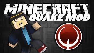 """Minecraft Mods   QUAKE MOD   """"B-Hop, Strafe & Surf In Minecraft""""   Minecraft Mod Showcase"""