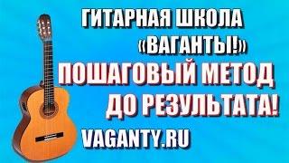 Уроки гитары с нуля. Загрузка видео на ютуб www.vaganty.ru