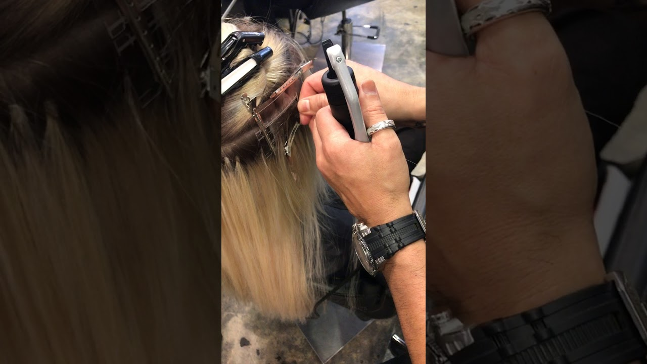 Hair Extensions Installed At Avant Garde Salon And Spa Youtube