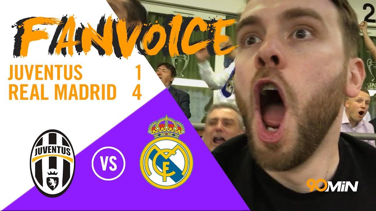 90 FAN VOICE | Ronaldo wins Real the Champions League despite Mandzukic Goal! | Juventus 1-4 Real Madrid | CL Final