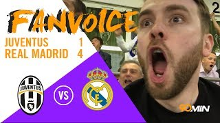 90 FAN VOICE   Ronaldo wins Real the Champions League despite Mandzukic Goal!   Juventus 1-4 Real Madrid   CL Final