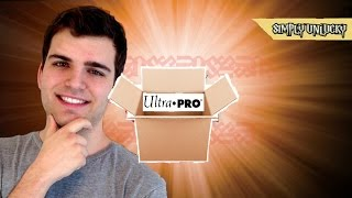 The Amazing, The Awesome, The Ultra Pro Care Package! Sleeves, Playmats, Yess, OH BABY!!