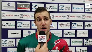 Marco Rizzo post Gi Group Monza vs Piacenza andata QF Play Off Challenge