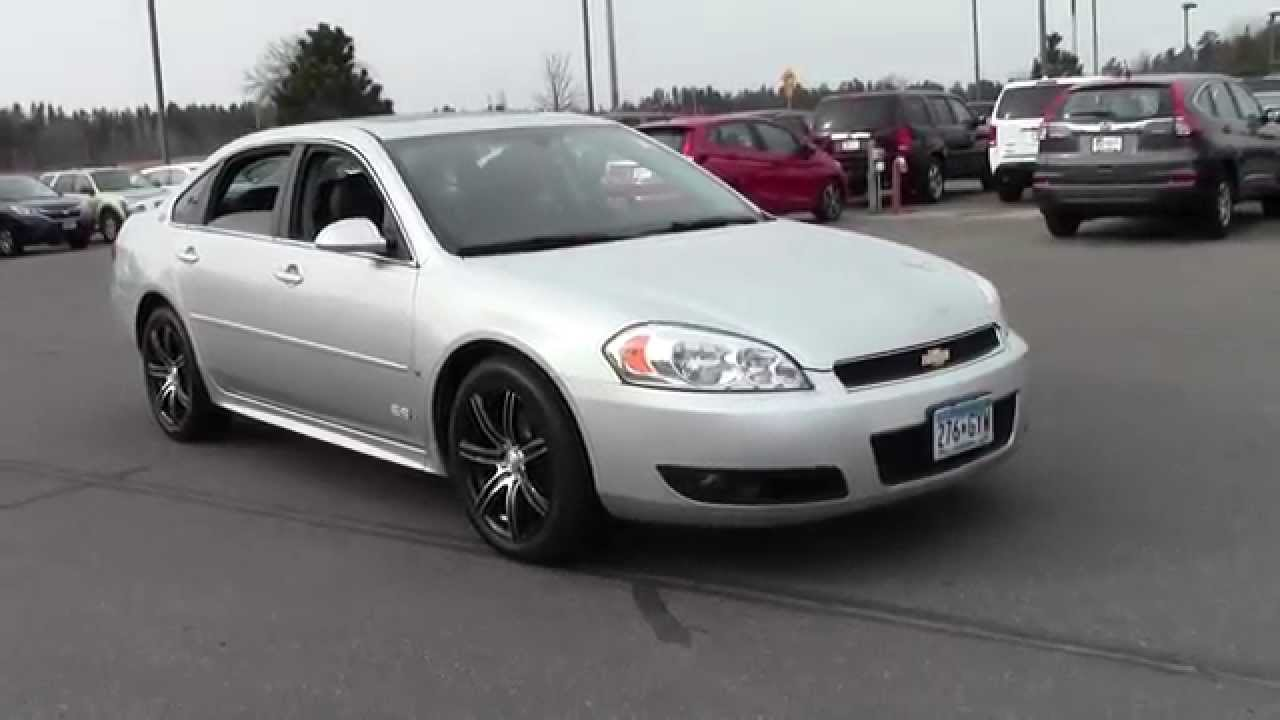 2009 Chevrolet Impala Ss 6h150225a Youtube