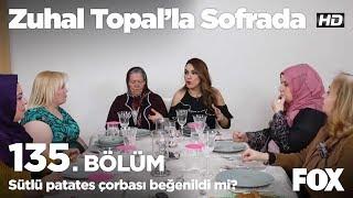 Sütlü patates çorbası beğenildi mi? Zuhal Topal'la Sofrada 135. Bölüm