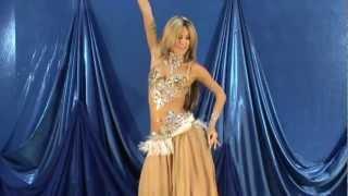 Красивый танец живота.Екатерина Халезина. Танец под барабаны.