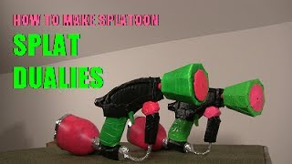 How to Make Splatoon Splat Dualies