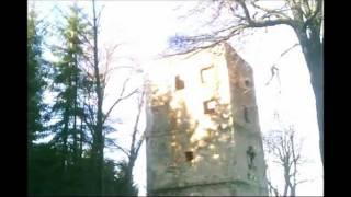 Zřícenína observatoře v Polsku poblíž hranic z ČR