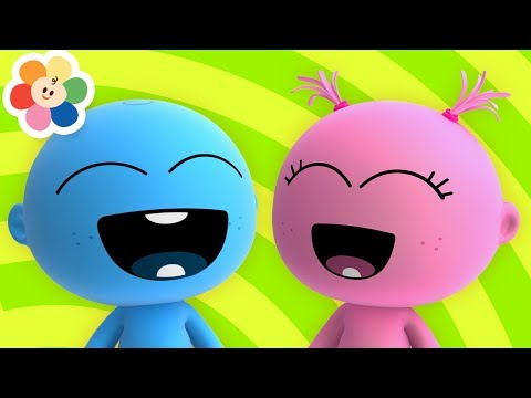 Laughing Song With GooGoo & GaaGaa Baby | Family Fun Nursery Songs For Kids With The Funny Babies