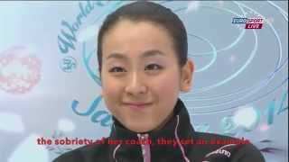 [ENG SUB] Spanish Commentary: Mao Asada (JPN) SP - Worlds 2014