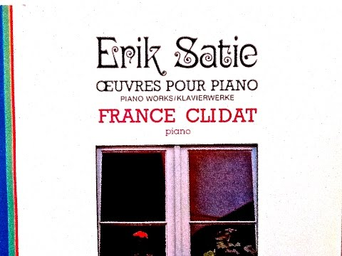 Satie - Gymnopedies, Gnossiennes, Je te veux... (recording of the Century : France Clidat)