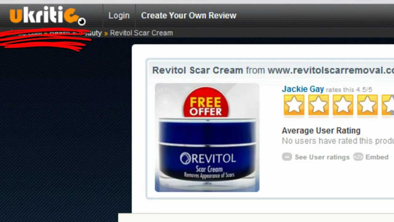 Review Of Scar Removal Cream By Revitol Video Summary Youtube