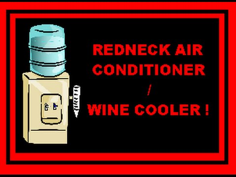 how to make a redneck air conditioner