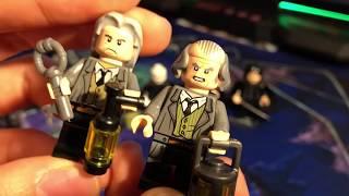 Рубрика Сравнения - Лего Гарри Поттер: Дементор, Снейп, Волан-Де-Морт и Филч!