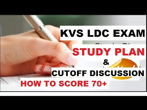 Download KVS LDC PREPARATION 2018 - COMPLETE STUDY PLAN / CUTOFF DISCUSSION