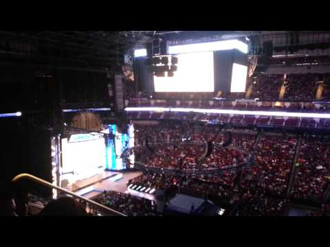 WWE SmackDown Opening Pyro at the Toyota Center