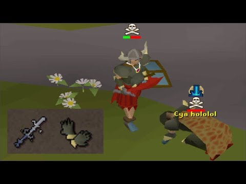 I dressed up as a noob and went pking