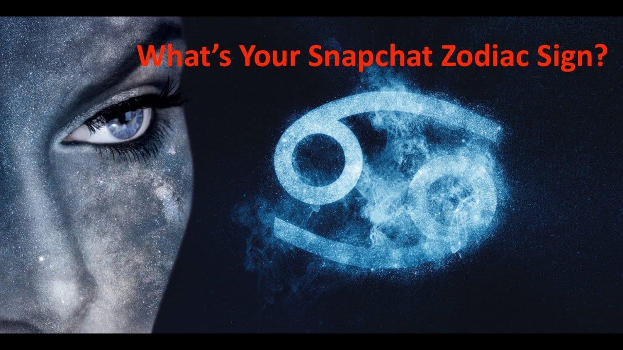 Snapchat zodiac signs