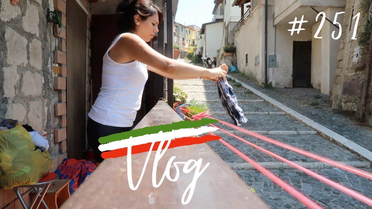 Un día conmigo en un pueblo ITALIANO, limpieza, supermercado, amigos + CHISME 🙄 MEXICANA EN LONDRES