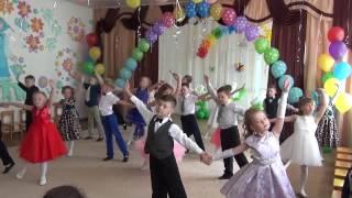 """Танец """"Выпускной вальс"""". Видео Юлии Буговой."""