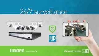 Uniden - Guardian HD DVR Security Series