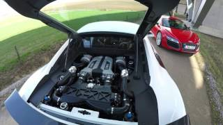 Audi R8 V8 TWIN Supercharged conversion