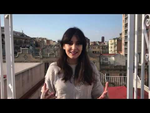 Camino Barcelona - our Spanish Teacher Mariu Alvarez (Spanish, English Subtitles)