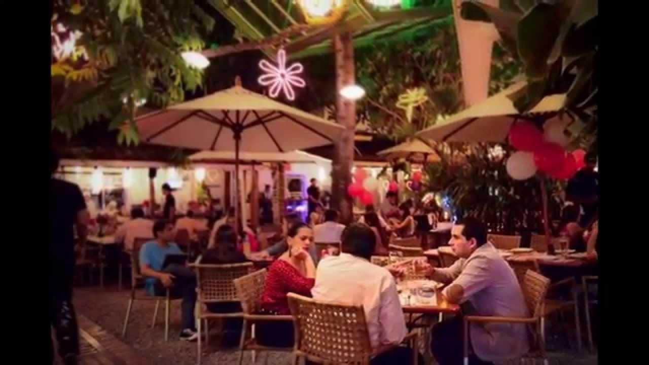 Restaurante faro el solar cali colombia youtube for Bares ciudad jardin cali