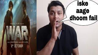 war official teaser review & reaction hrithik roshan,tiger shroff war movie release date