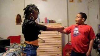 lexie and maliek dancing