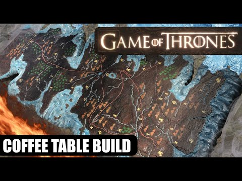 Game Of Thrones Westeros Table Map Build