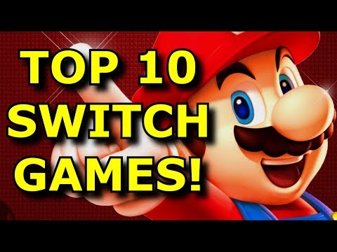 TOP 10 BEST Nintendo Switch Games!