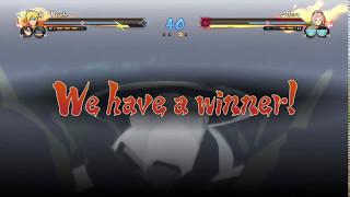 nsuns4 boruto sarada y mitsuki vs naruto sakura sasuke ultimate batle