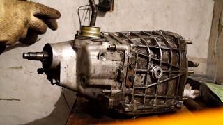 установка механизма переключения передач на КПП ВАЗ-2101