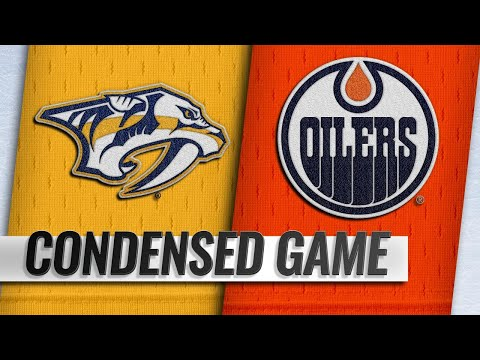 10/20/18 Condensed Game: Predators @ Oilers
