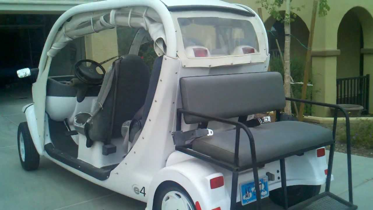 For Sale 2005 Gem Electric Car Golf Cart Nev E4 6 Seater Youtube
