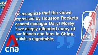 NBA, Houston Rockets suffer backlash in China over tweet on Hong Kong