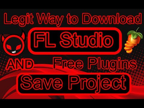 How To Download FL Studio Legit Way AND How To Save Project  ❤️