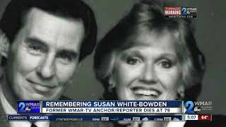 Former WMAR-TV Anchor/Reporter Susan White-Bowden dies at the age of 79