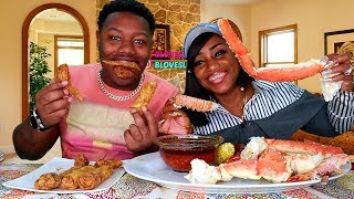 Seafood Boil & Fried Chicken